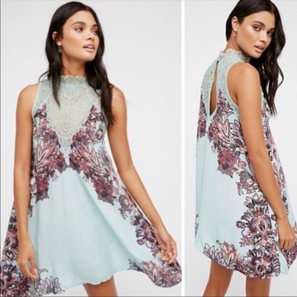 Free People Dresses & Skirts - NWT Free People Marsha Printed Slip Dress